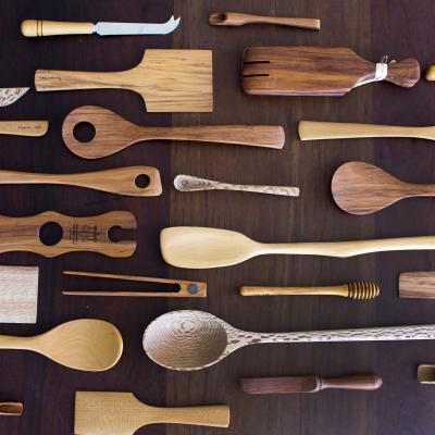 Utensils for all occasions.
