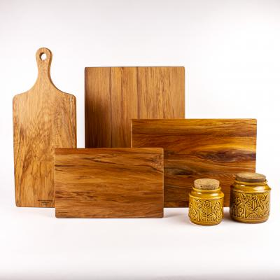 Chopping boards in all shapes and sizes