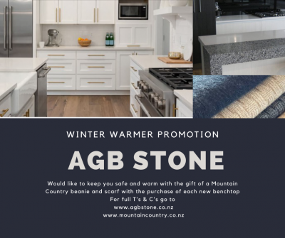 Mountain Country and AGB Stone - Winter Warmer Promotion